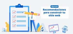 Recomendaciones para construir sitios web