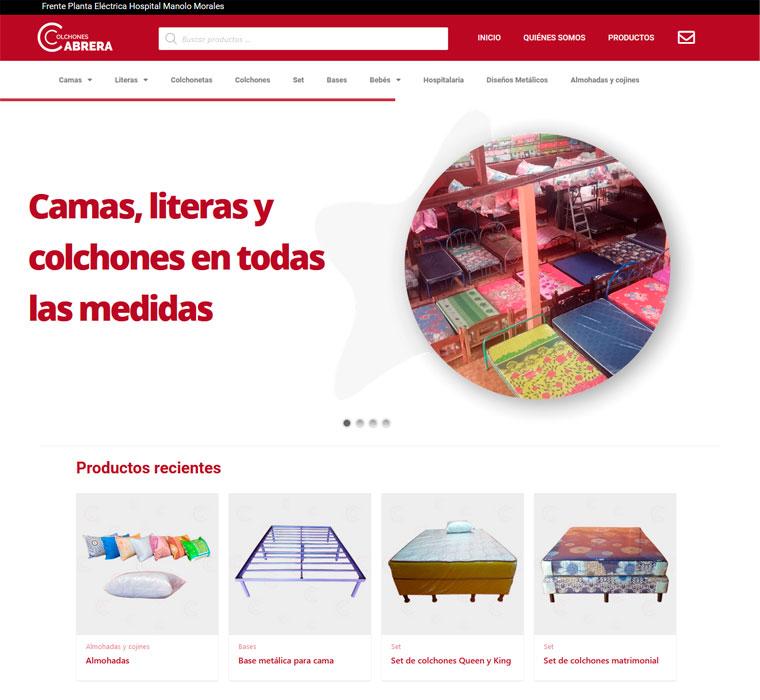 Colchones Cabrera
